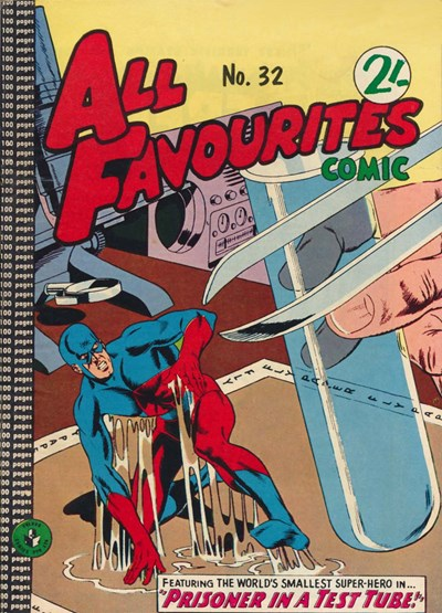 All Favourites Comic (Colour Comics, 1960 series) #32 ([August 1962?])