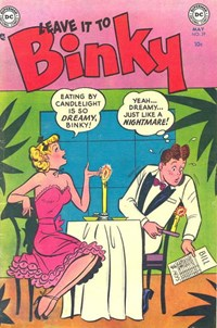 Leave it to Binky (DC, 1948 series) #39 (May 1954)