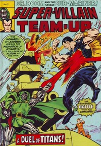 Super-Villain Team-Up (Yaffa/Page, 1978 series) #2 — A Duel of Titans! (Cover)