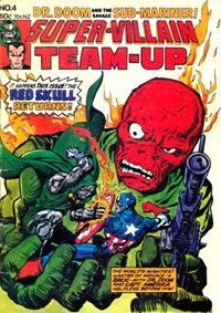 Super-Villain Team-Up (Yaffa/Page, 1978 series) #4 — The Red Skull Returns! (Cover)