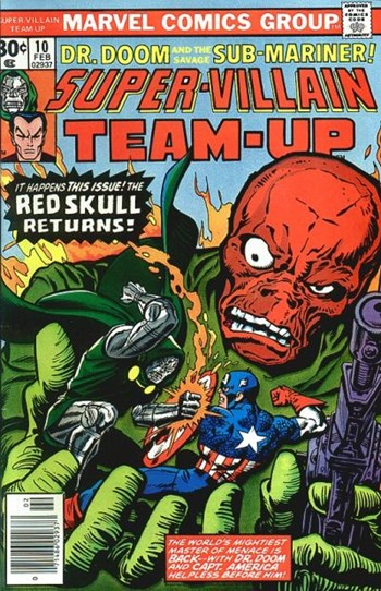 Red Skull Returns! (Cover)