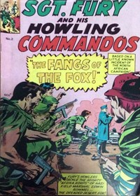 Sgt. Fury and His Howling Commandos (Yaffa/Page, 197-? series) #2 — The Fangs of the Fox!