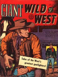 Giant Wild West (Horwitz, 1955? series) #3 — No title recorded