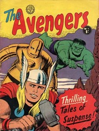 The Avengers (Horwitz, 1965 series) #1 — Thrilling Tales of Suspense!