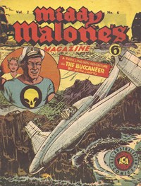 Middy Malone's Magazine (Fatty Finn, 1946 series) v2#6 — The Buccaneer