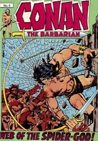 Conan the Barbarian (Yaffa/Page, 1977 series) #5 — Web of the Spider-God!