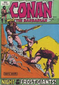 Conan the Barbarian (Yaffa/Page, 1977 series) #6 — Night of the Frost-Giants