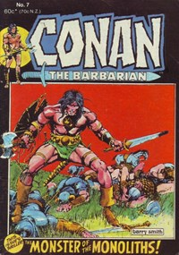 Conan the Barbarian (Yaffa/Page, 1977 series) #7 — The Moonster of the Monoliths!