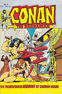 Conan the Barbarian (Yaffa/Page, 1977 series) #9 (August 1981)