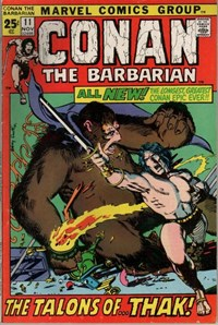 Conan the Barbarian (Marvel, 1970 series) #11 (November 1971)