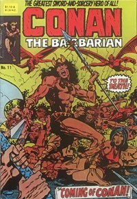Conan the Barbarian (Yaffa/Page, 1977 series) #11 — The Coming of Conan!
