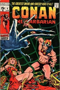 Conan the Barbarian (Marvel, 1970 series) #4 (April 1971)