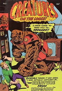 Creatures on the Loose! (Yaffa, 1977? series) #2 — The Creature from Krogarr!