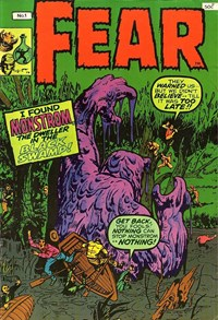 Fear (Yaffa, 1978 series) #1 — I found Monstrom, the Dweller in the Black Swamp!