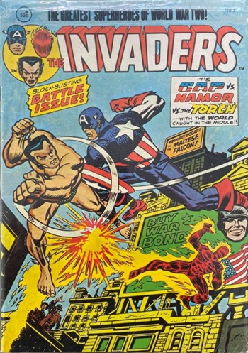 Block-Buster Battle Issue!—The Invaders (Yaffa/Page, 1978 series) #1  ([December 1978?])