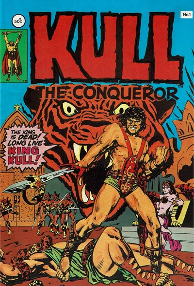 Kull the Conqueror (Yaffa/Page, 1977 series) #1 ([October 1977])