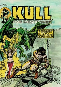 Kull the Destroyer (Yaffa, 1981 series) #5