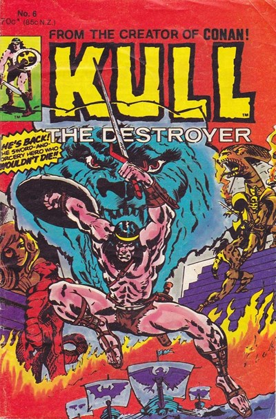 Kull the Destroyer (Yaffa, 1981 series) #6 ([August 1981])