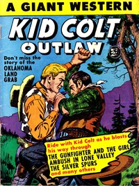 Kid Colt Outlaw: a Giant Western (Horwitz, 1958 series) #2 — Oklahoma Land Grab