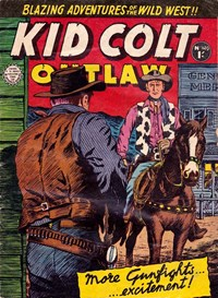 Kid Colt Outlaw (Horwitz, 1955? series) #149 — Untitled