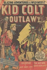 Kid Colt Outlaw (AGP, 1952 series) #1 — Untitled