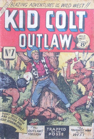 Kid Colt Outlaw (Transport, 1952 series) #7 ([1952?])