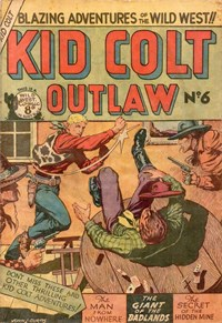 Kid Colt Outlaw (Transport, 1952 series) #6 — Untitled