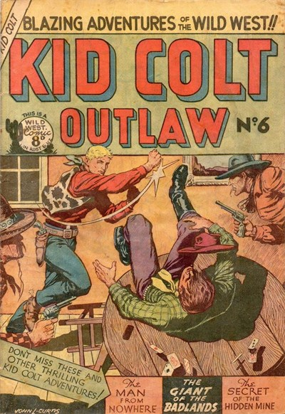 Kid Colt Outlaw (Transport, 1952 series) #6 ([1952?])