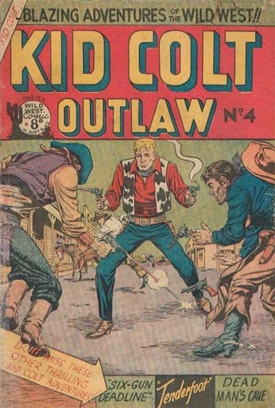 Kid Colt Outlaw (AGP, 1952 series) #4 ([195-?])