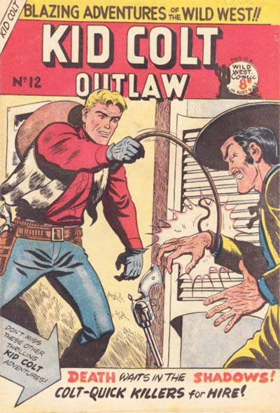 Kid Colt Outlaw (Transport, 1952 series) #12 ([January 1953?])