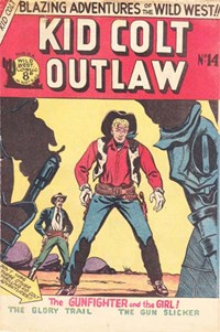 Kid Colt Outlaw (Transport, 1952 series) #14 ([March 1953?])