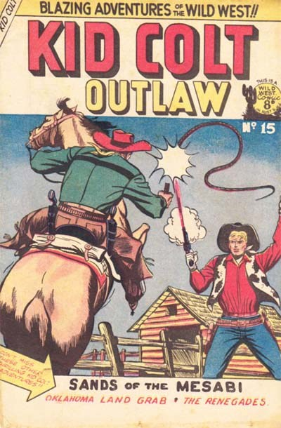 Kid Colt Outlaw (Transport, 1952 series) #15 ([April 1953?])