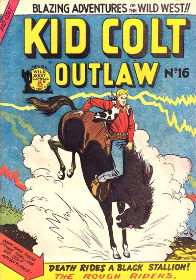 Kid Colt Outlaw (Transport, 1952 series) #16 ([May 1953?])