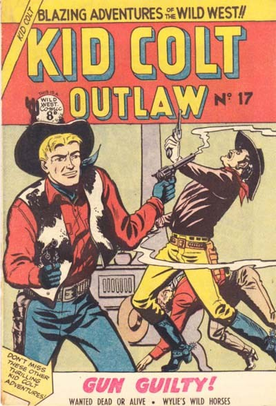 Kid Colt Outlaw (Transport, 1952 series) #17 ([June 1953?])
