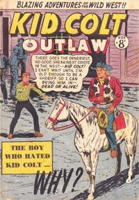 Kid Colt Outlaw (Transport, 1952 series) #24 ([January 1954?])