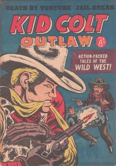 Kid Colt Outlaw (Transport, 1952 series) #25 ([February 1954?])
