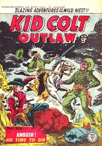 Kid Colt Outlaw (Transport, 1952 series) #36 ([January 1955?])