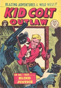 Kid Colt Outlaw (Transport, 1952 series) #31 ([August 1954?])
