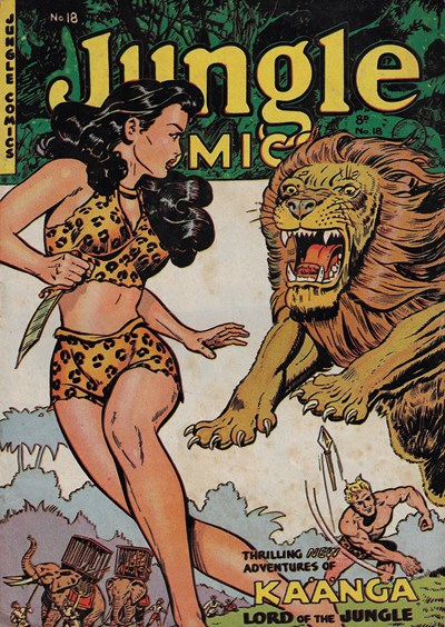 Jungle Comics (HJ Edwards, 1950? series) #18 ([ 1952?])