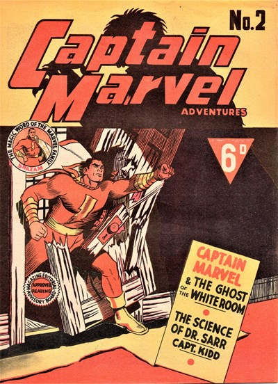 Captain Marvel Adventures (Vee, 1946? series) #2 ([1946?])