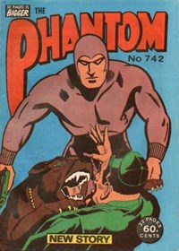 The Phantom (Frew, 1983 series) #742 (April 1982)
