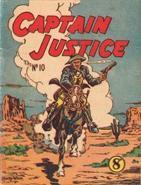 Captain Justice (New Century, 1950 series) #10 ([September 1951?])