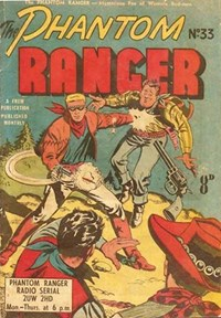 The Phantom Ranger (Frew, 1952 series) #33 ([June 1952?])