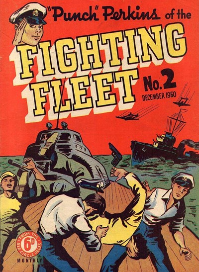 """Punch"" Perkins of the Fighting Fleet (Red Circle, 1950 series) #2 (December 1950)"