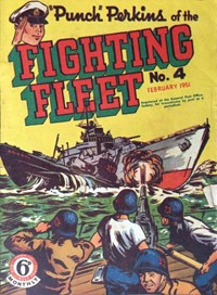 """Punch"" Perkins of the Fighting Fleet (Red Circle, 1950 series) #4 ([February 1951?])"