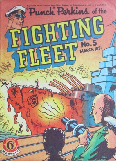 """Punch"" Perkins of the Fighting Fleet (Red Circle, 1950 series) #5 (March 1951)"