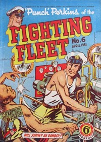 """Punch"" Perkins of the Fighting Fleet (Red Circle, 1950 series) #6 (April 1951)"