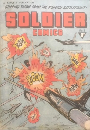 Soldier Comics (Cleland, 1952? series) #8 ([1953?])