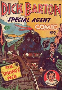 Dick Barton Special Agent Comic (Ayers & James, 1952 series) #2 ([1952?])