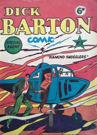 Dick Barton Special Agent Comic (Ayers & James, 1952 series) #3 ([1952?])